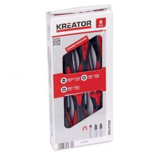 ست 6 عددی پیچگوشتی مگنتی کریتور مدل KRT400001
