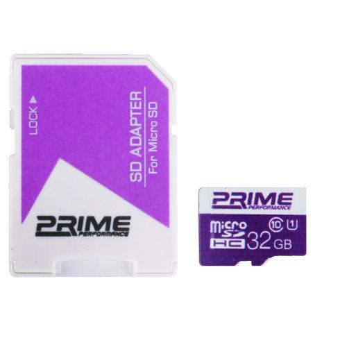 کارت حافظه microSDHC پرایم کلاس 10-UHS-I U1-32 GB